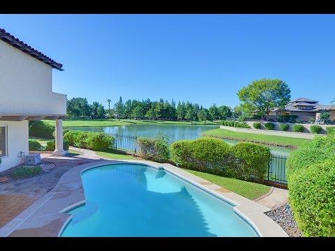 GATED WATERFRONT LUXURY | Luxury Home Tour in Phoenix, AZ