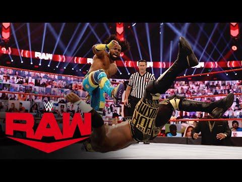 The New Day vs. Shelton Benjamin & Cedric Alexander – Raw Tag Team Title Match: Raw, Nov. 23, 2020