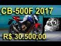 [APRESENTA��O] NOVA HONDA CB-500F 2017 - MOTONEWS