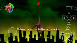 Spiderman 2 psp gameplay