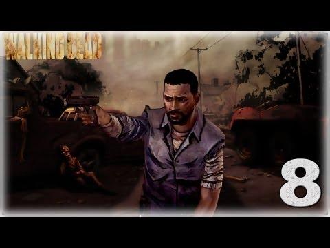 Смотреть прохождение игры The Walking Dead: Episode 2. Серия 8 - Пора валить отсюда!