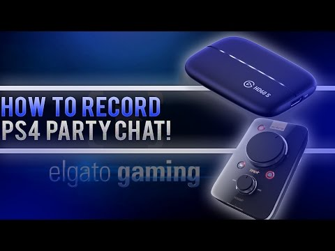 How To Record/Stream PS4 Party Chat With An Elgato Capture Card! (Easy & No Extra Cables!)