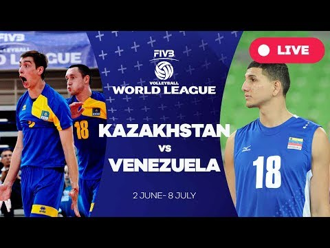 Kazakhstan v Venezuela - Group 3: 2017 FIVB Volleyball World League