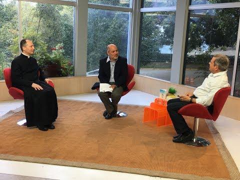 Padre Duarte Lara no programa Trocando Ideias