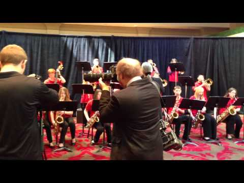 Shepherdstown Middle School Jazz Band, March 20, 2013 - VH1 Ceremony - St. James Infirmary