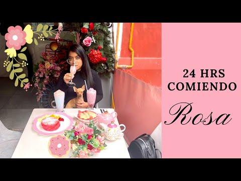 24 HORAS Comiendo ROSA - Janeli Morales