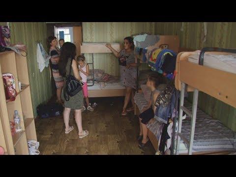 Вывезенных из Армянска детей поселили в непригодных для жизни помещениях