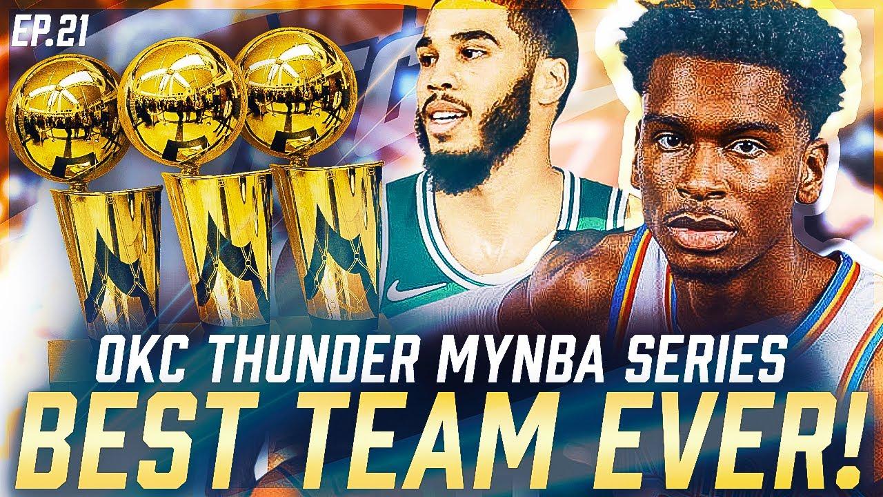 Download The Greatest DYNASTY IN NBA HISTORY | REBUILDING THE OKC THUNDER | NBA 2K21 MYNBA NEXT GEN