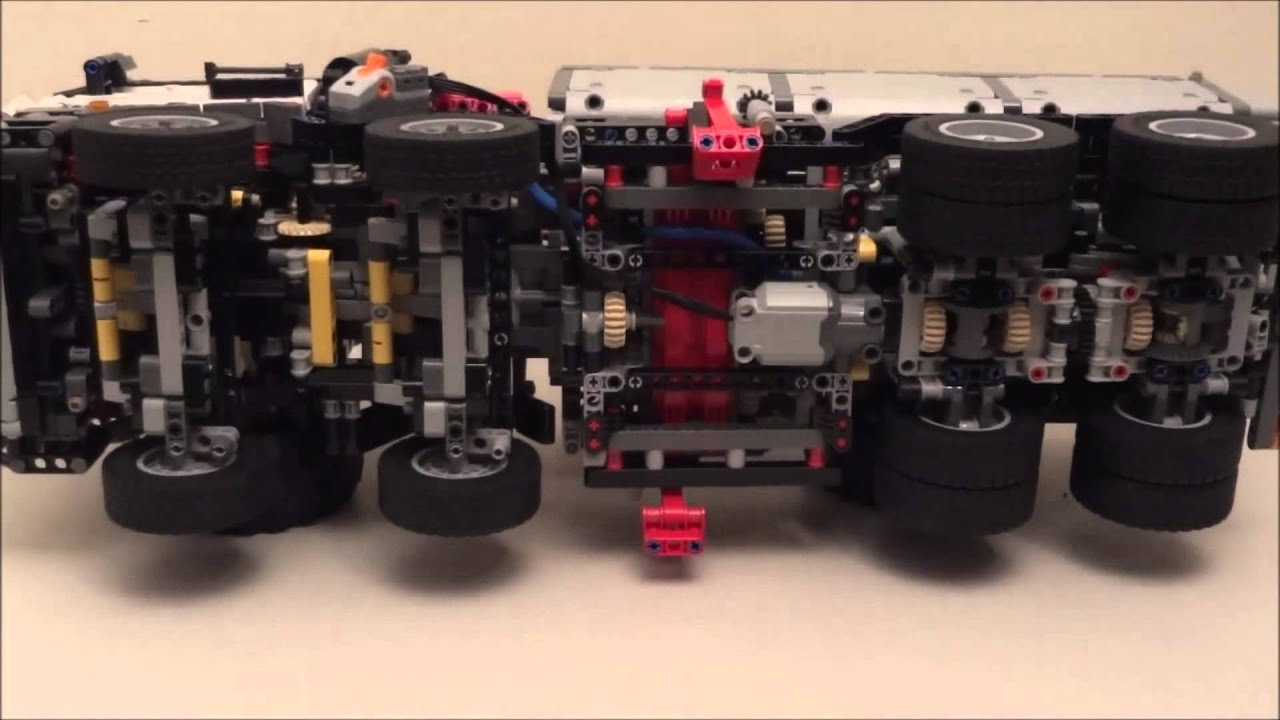 lego technic 42043 mercedes benz arocs 3245 part 2 youtube. Black Bedroom Furniture Sets. Home Design Ideas