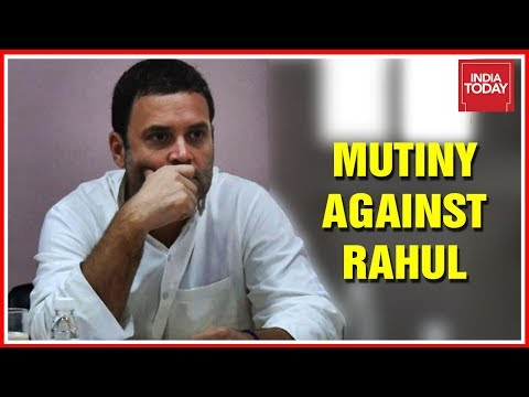 Mutiny Against Rahul Gandhi : How Vulnerable Is Congress Party After Elections 2019? | 5ive Live