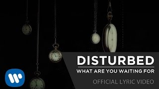 Disturbed - What Are You Waiting For [Official Lyric Video]