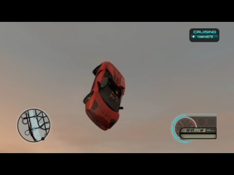 Midnight Club LA - Stunts Jumps Crashes And Glitches
