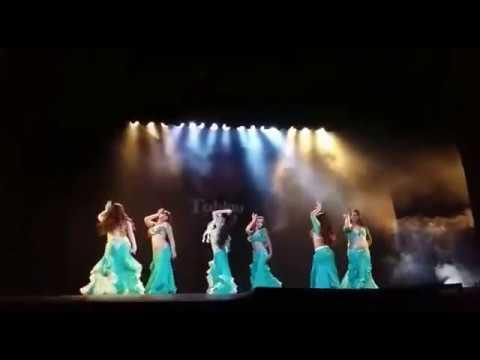 """Ballet Antonella Rodriguez """"Kif Btawel Bali"""" TABLAO"""