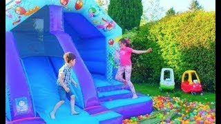 Castillo Inflable Para Ninos -Bouncy Castle Fun for Kids