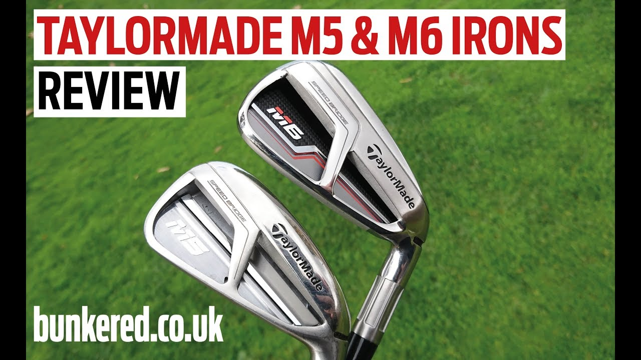 FIRST REVIEW! TaylorMade M5 & M6 irons