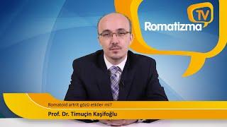Romatoid artrit gözü etkiler mi?