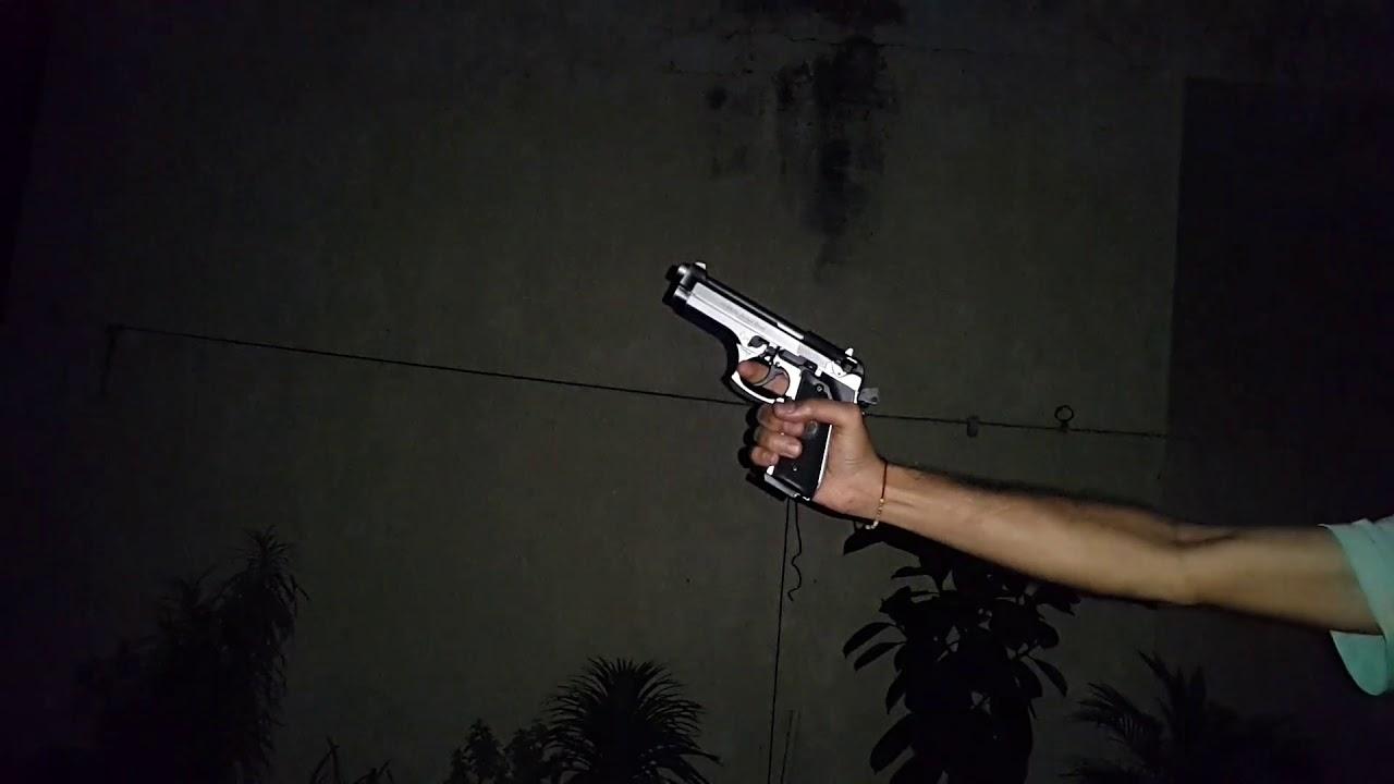 Ekol jackal dual blank gun shooting semi auto