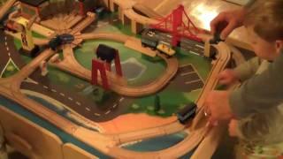 Kids - Xmas 2009 Train Table