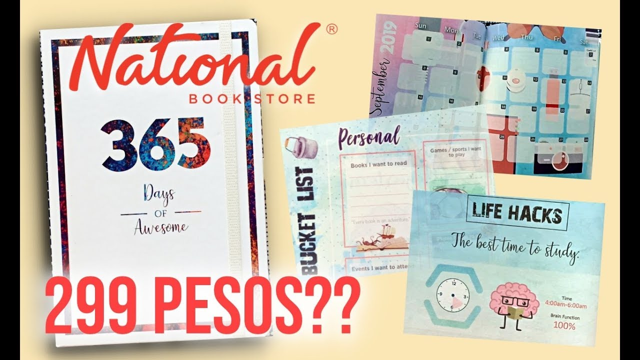 Watch Before You Buy National Book Store 2019 Planner Angelica