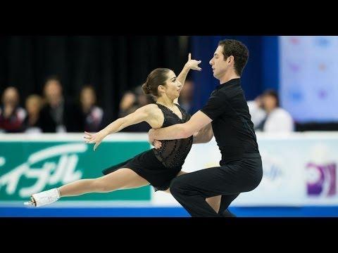 Simon Shnapir and Marissa Castelli pairs competition, US Figure Skating Championships
