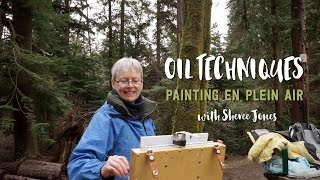 Oil Techniques: Painting en Plein Air with Sheree Jones