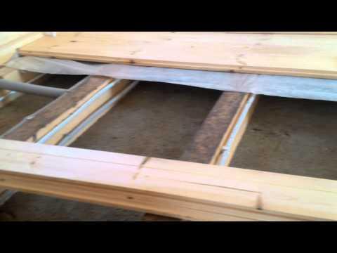видео: 119-29 - Утепление пола первого этажа