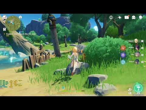 Genshin Impact Pc Closed Beta 2 Part 13 4k60 Youtube