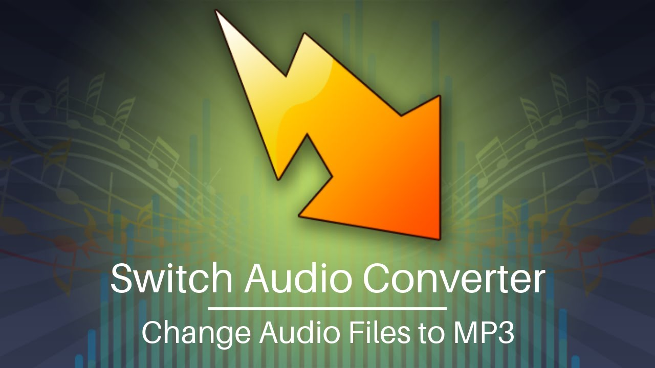 How to Change Audio Files to MP3 Format - Switch Audio Converter Tutorial
