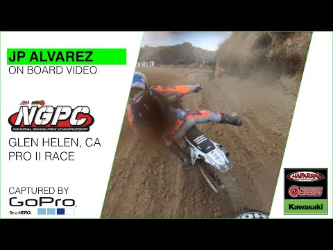 2020 Glen Helen NGPC: JP Alvarez Races At The Front Of The Pro II Class With Mateo Oliveira