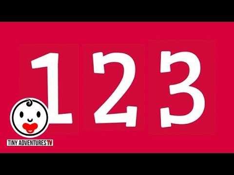 Recognize the Numbers 1-20 | Simple Learning Video for Babies, Toddlers, Kids (Teach Numbers)
