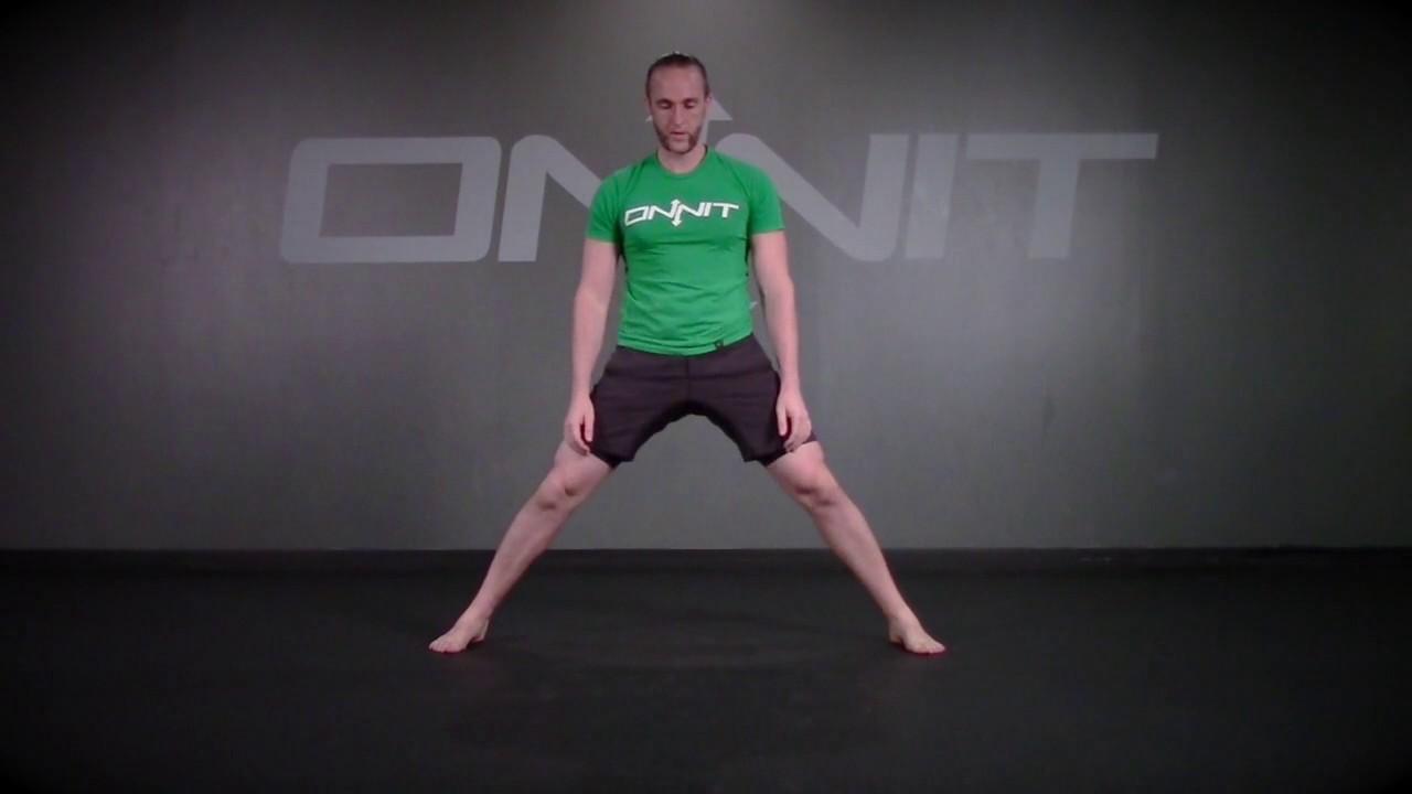 Alternating Cossack Squat Durability Exercise - YouTube