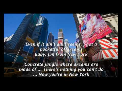 Alicia Keys - Empire State of Mind Karaoke (Part 2) [Element of Freedom]