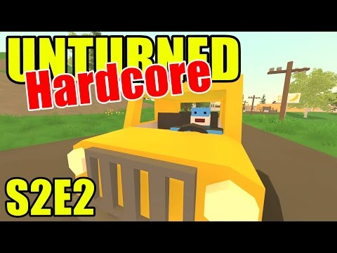 Unturned HARD Mode - Fire Chief Truck! - S2E02 (New Brunswick Map)