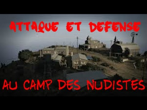 attaque du camp des nudistes gta 5 d fense contre la police 1 youtube. Black Bedroom Furniture Sets. Home Design Ideas