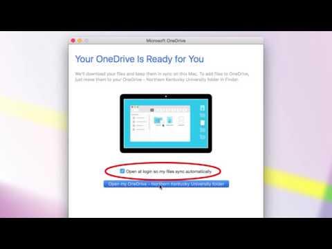 Setup Onedrive For Mac