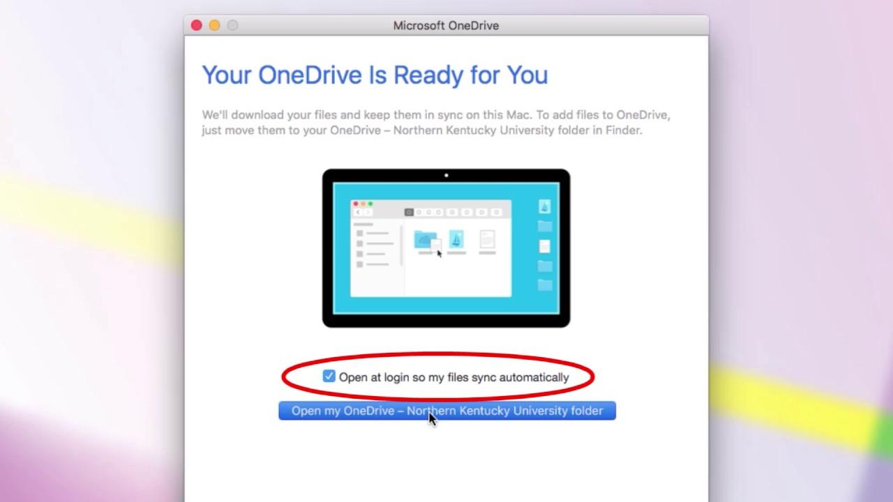 Setup Onedrive for Mac  YouTube