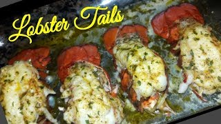 How to make Quick & Easy Juicy Lobster Tails Recipe! Step by Step