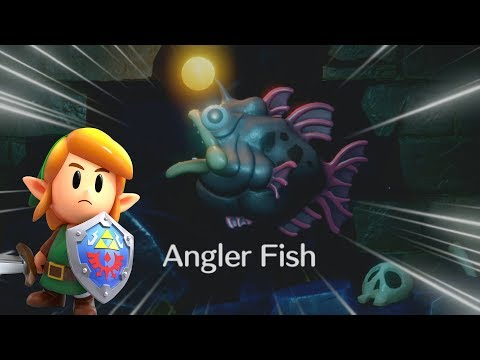 HOOTIE AND THE ANGLER FISH!!