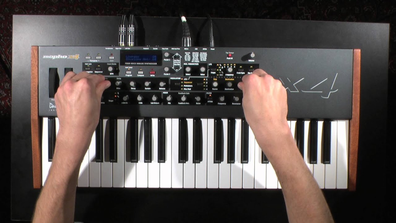 mopho x4 demo dave smith instruments youtube. Black Bedroom Furniture Sets. Home Design Ideas