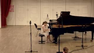 Бетховен Соната 1 1 часть М Никулина фортепиано