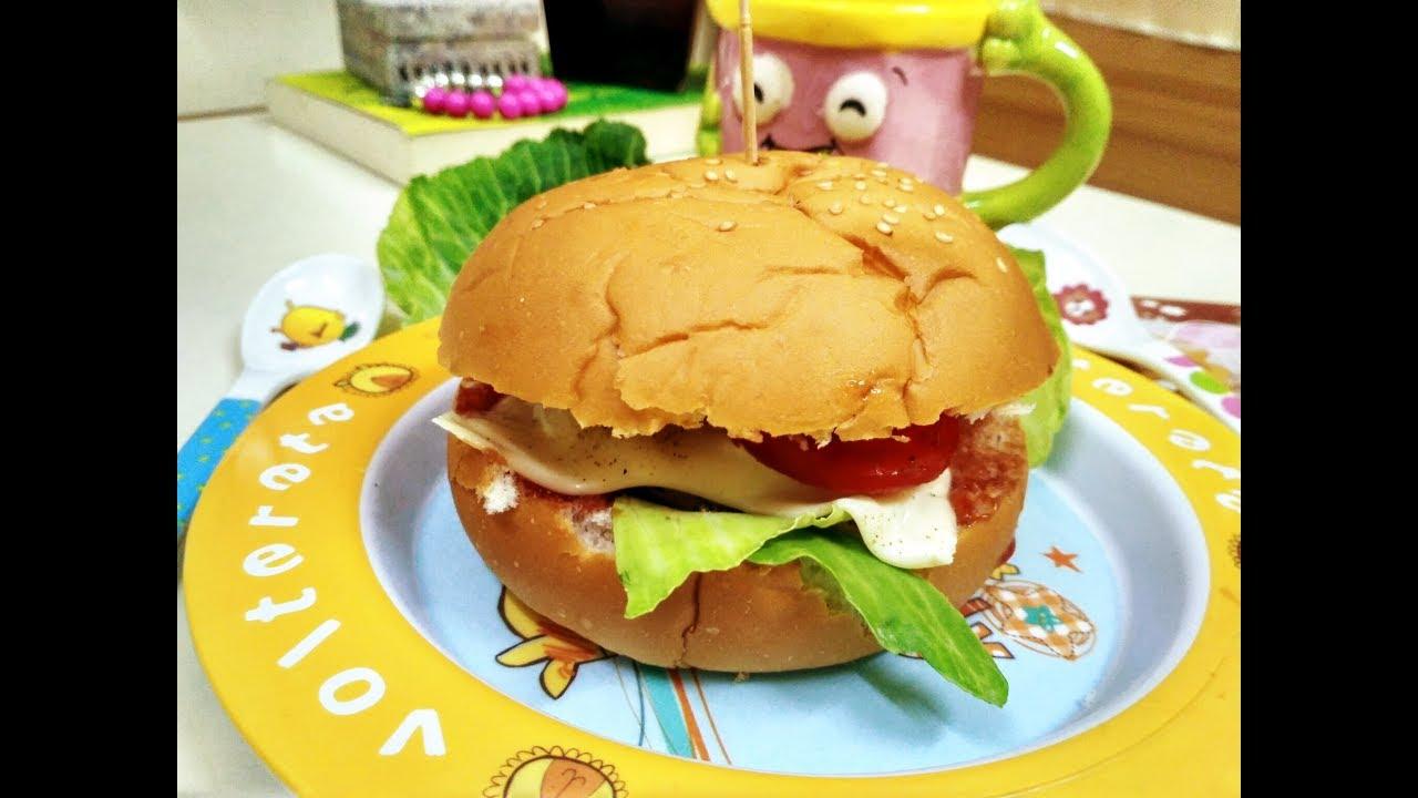 how to cook veg burger