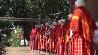 """00005 Folkloras diena """"Novadu sasaukšanās"""" uz Vērmanes dārza lielās skatuves 7.07.2018"""