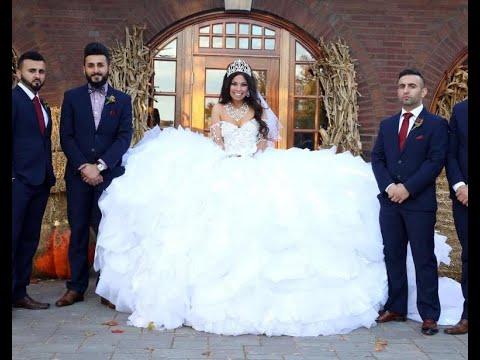 71f20b8c33233 أسوء 10 فساتين زفاف في العالم - YouTube