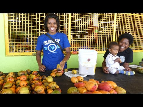 SUVA MARKET, FIJI - Best market in the world!