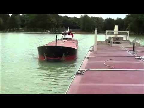 Failed Ship-to-Ship underway manoeuvre - Port Revel Shiphandling