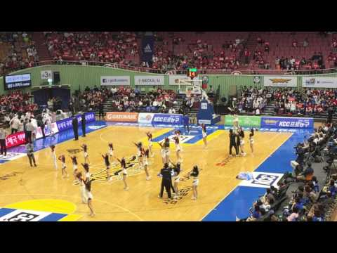 Seoul samsung thunders vs. Goyang orions KBL Playoffs 04152017