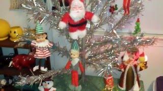 Vintage Christmas Decor Room Tour