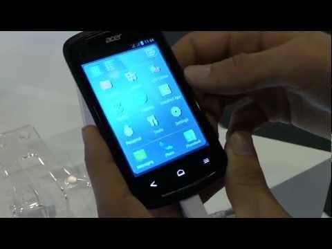 Acer Liquid Z2 okostelefon bemutató videó @ MWC 2013 | Tech2.hu