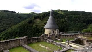 Die Burg von Bourscheid - Ösling - Luxemburg - Reisebericht