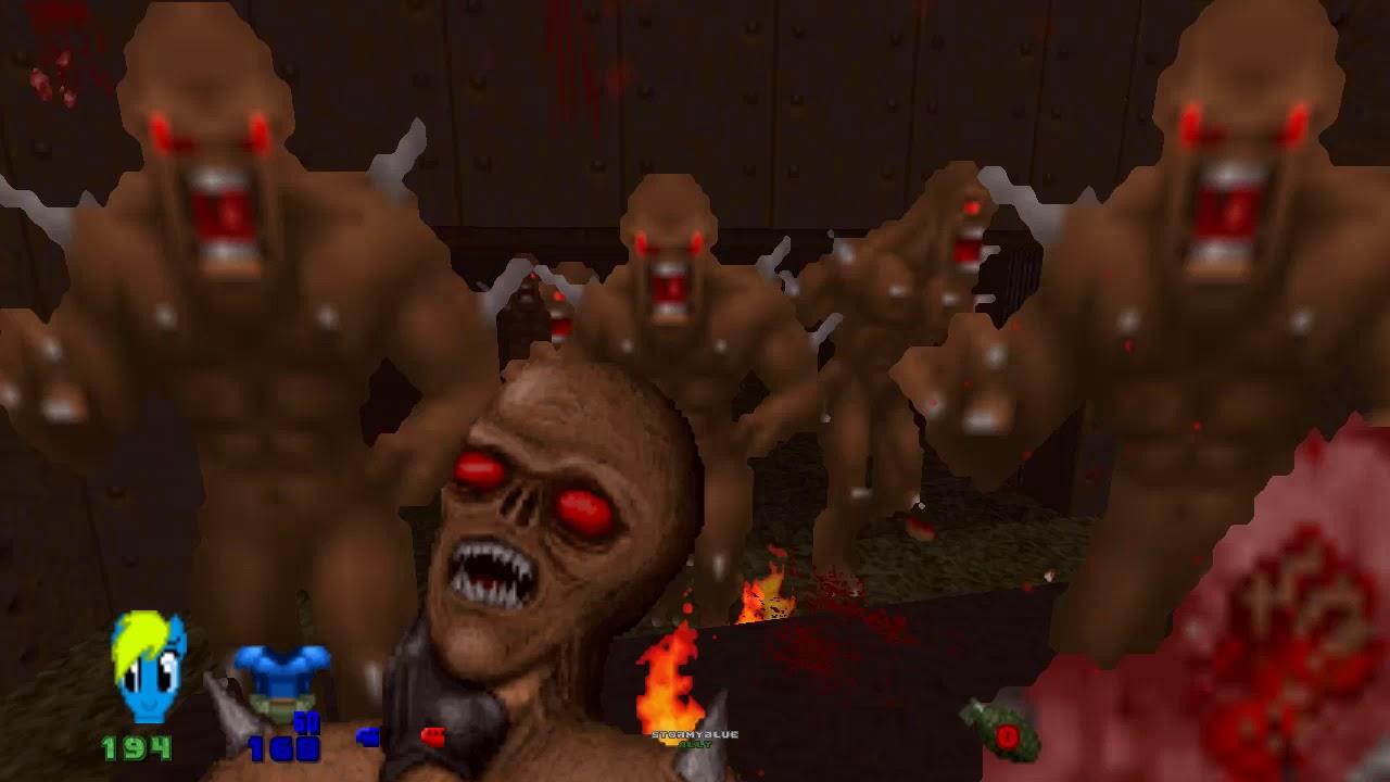 Insane gore - Brutal Doom v21 beta